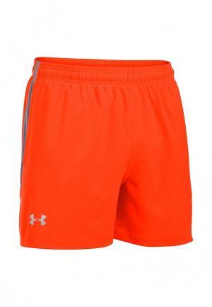 Шорты спортивные Under Armour. Цвет: оранжевый