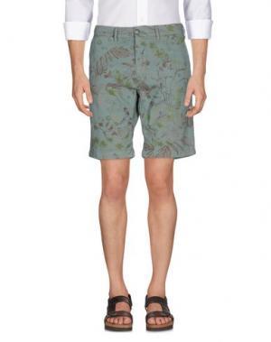 Бермуды UNIFORM. Цвет: зеленый-милитари