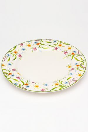 Тарелка обеденная 27 см , Аквитания IMARI. Цвет: мультицвет