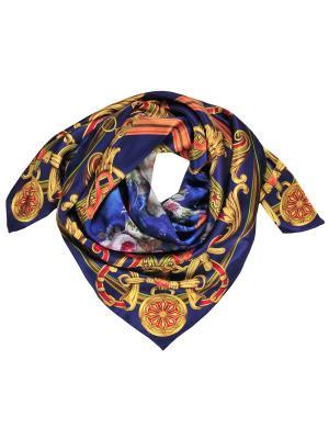 Платок Модные истории. Цвет: синий