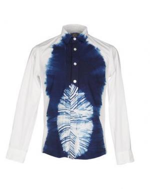 Pубашка BLUE JAPAN. Цвет: белый