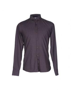 Pубашка AGLINI. Цвет: темно-фиолетовый