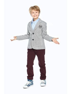 Пиджак IDEXE. Цвет: серый