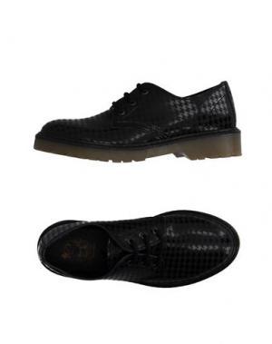 Обувь на шнурках PEOPLE FOR HAPPINESS. Цвет: стальной серый
