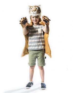 Карнавальные костюмы и маски WILD & SOFT. Цвет: коричневый