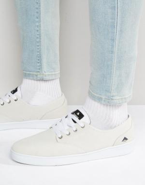 Emerica Кроссовки на шнуровке Romero. Цвет: белый