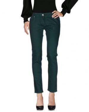 Повседневные брюки ARTIGLI. Цвет: зеленый