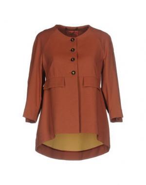 Пиджак MANILA GRACE DENIM. Цвет: коричневый