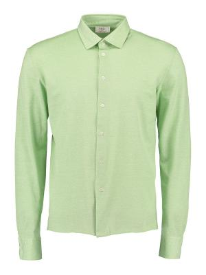 Рубашка Umberto Vallati. Цвет: светло-зеленый