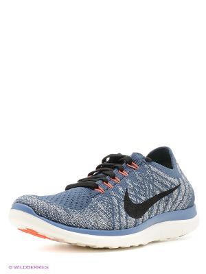 Кроссовки Nike. Цвет: серый, темно-серый, темно-зеленый