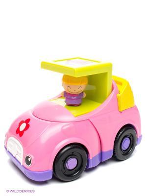 Машинка для девочек Kidz Delight 1Toy. Цвет: розовый, салатовый, сиреневый