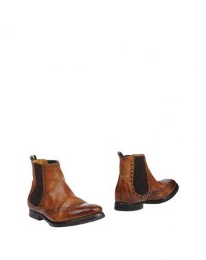 Полусапоги и высокие ботинки SARTORI GOLD. Цвет: коричневый