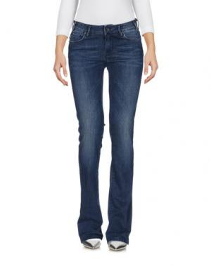 Джинсовые брюки TRAMAROSSA. Цвет: синий