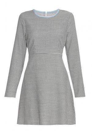 Платье из шерсти 143939 Villa Turgenev. Цвет: серый