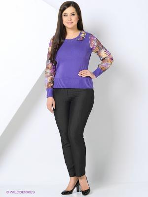 Джемпер KTF Collection. Цвет: фиолетовый
