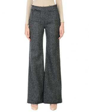 Повседневные брюки ISA ARFEN. Цвет: свинцово-серый