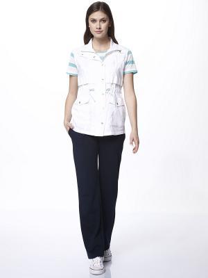 Комплект одежды RELAX MODE. Цвет: синий, белый, бирюзовый