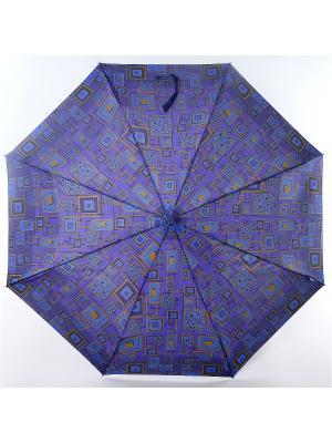 Зонт Airton. Цвет: черный, синий