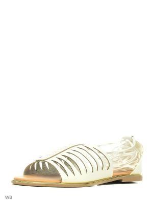 Босоножки Qupid. Цвет: белый