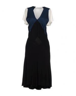 Платье длиной 3/4 VIONNET. Цвет: черный