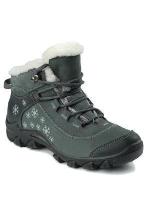 Ботинки S-TEP. Цвет: серый
