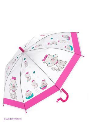 Зонт детский Кошечка Mary Poppins. Цвет: белый, розовый