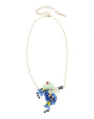 Ожерелье LA HORMIGA. Цвет: синий