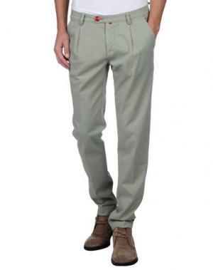 Повседневные брюки BARONIO. Цвет: светло-зеленый