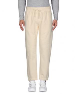 Повседневные брюки FUTUR. Цвет: слоновая кость