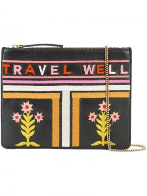 Travel Well clutch Lizzie Fortunato Jewels. Цвет: чёрный