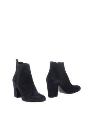 Полусапоги и высокие ботинки FABIO RUSCONI. Цвет: темно-синий