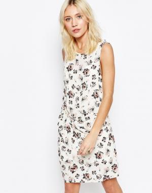 D.RA Платье с цветочным принтом Perry. Цвет: мульти