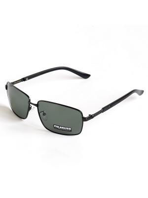 Солнцезащитные очки Selena. Цвет: зеленый, черный