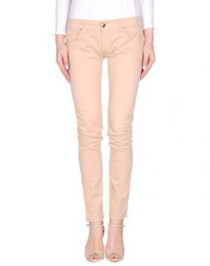 Повседневные брюки CESARE PACIOTTI 4US. Цвет: телесный