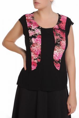 Блузка M&L Collection. Цвет: розовый