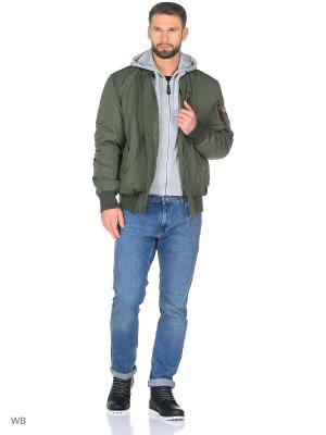 Куртка VIZANI. Цвет: оливковый