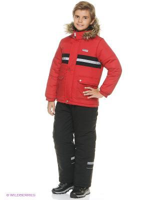 Куртка для мальчика Cherubino. Цвет: красный