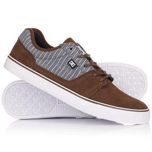Кеды кроссовки низкие DC Tonik Se Brown/Blue Shoes. Цвет: коричневый,синий