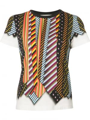 Iven T-shirt Mary Katrantzou. Цвет: чёрный