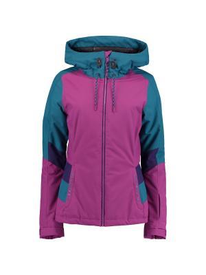 Куртка O'Neill. Цвет: бирюзовый, фиолетовый