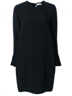 Классическое платье шифт Mantu. Цвет: чёрный