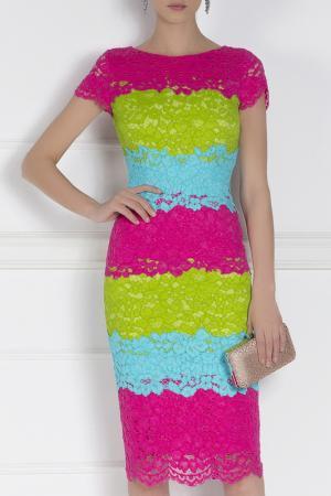 Платье Nissa. Цвет: мультицвет