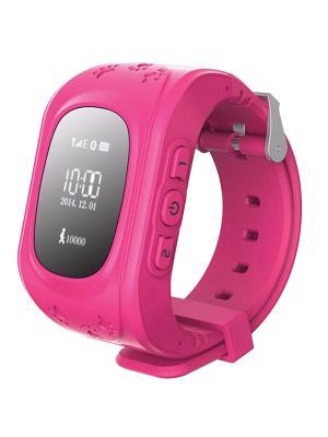 Gps часы к911 Кнопка Жизни. Цвет: розовый