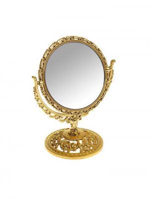 Зеркальце Bizon. Цвет: золотистый