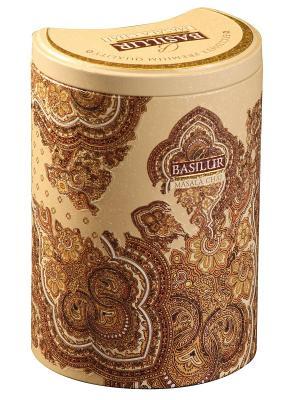 Чай Basilur ВОСТОЧНАЯ КОЛЛЕКЦИЯ Масала Masala Chai, 1 БАНОЧКА. Цвет: светло-бежевый, коричневый