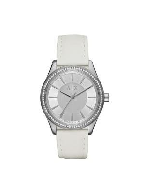 Часы Armani Exchange. Цвет: серебристый, белый