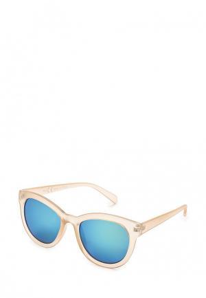 Очки солнцезащитные Topshop. Цвет: бежевый