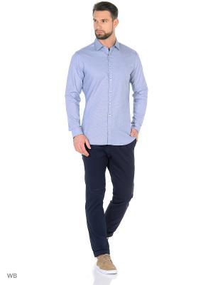 Рубашка - GALLO8 MANGO MAN. Цвет: синий
