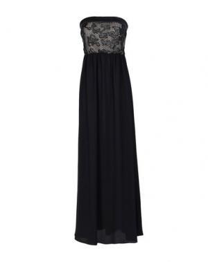 Длинное платье ÉCLÀ. Цвет: черный
