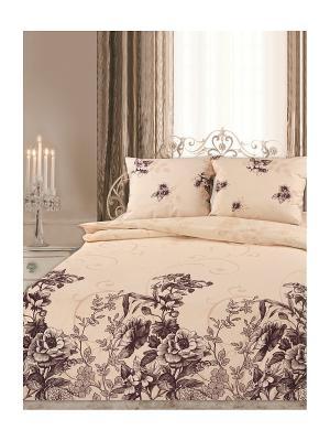 Постельное белье Romantic Collection. Цвет: белый